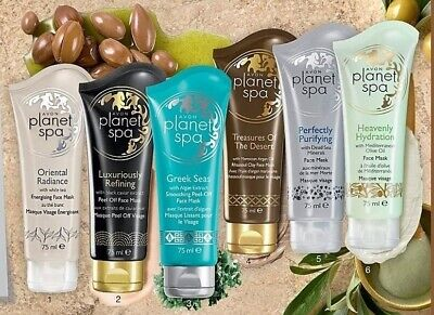 AVON Planet Spa Face Mask 50ml - 75ml - Assorted  NEW (Mask Planet)