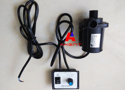 Dc Water Pump 12v 24v 3 Phase Hot Water Fountain Pump 2200lh 3000lh Flow Max