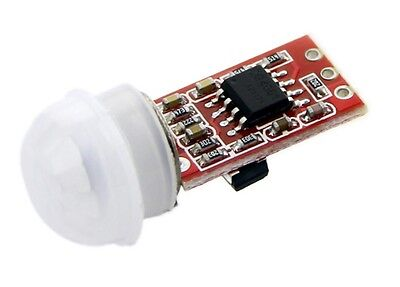 Mini Pir Motion Detector Sensor Module Human Body Sensing Infrared 5v Dc