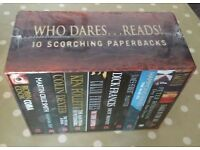 10 ADULT FICTION BOOK SET - NEW