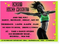 ENERGY DANCE WORKOUT