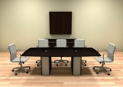 Modern Cotemporary Boat Shape 8 Feet Conference Table Ch-ver-c2