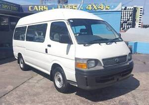 2000 Toyota Hiace Commuter van/ bus -- ONLY 59,000 KM -- $14,999 Highgate Hill Brisbane South West Preview