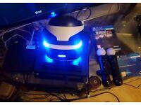 Playstation VR + Move + Resident Evil 7