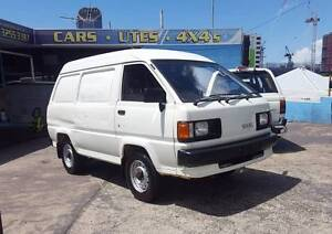 1990 Toyota Lite Ace van -only 62,000 KM - ONE OWNER - RWC $3999 Highgate Hill Brisbane South West Preview