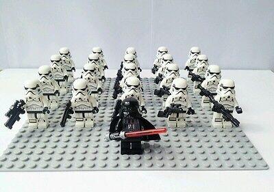 Kyпить Star Wars Darth Vader AND X10 Stormtrooper minifigures COMPATIBLE W/LEGO NEW!!! на еВаy.соm