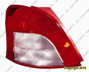 Tail Lamp Driver Side Hatchback Toyota Yaris 2006-2008