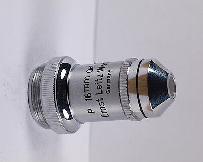 Leitz Special P 16mm Oel W Oil Water Immersion A 0.025 10.1 Objective