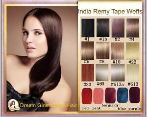 "AAA Grade 20"" Indian Tape Hair Extension 20pcs (50g) Melbourne CBD Melbourne City Preview"