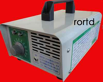 Smell Remover Vehicle-Mounted Automotive Room Car Ozone Generator DC 12V 4g/H