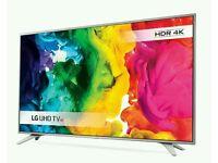 """LG 49"""" ULTRA HD 4K HDR SMART TV WI-FI HD FREEVIEW"""
