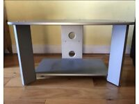 Silver 32inch TV stand
