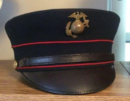 WW1 USMC blue wool hats 1912