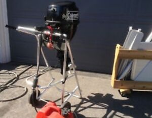 Coleman 9.8 hp Outboard Boat Motor