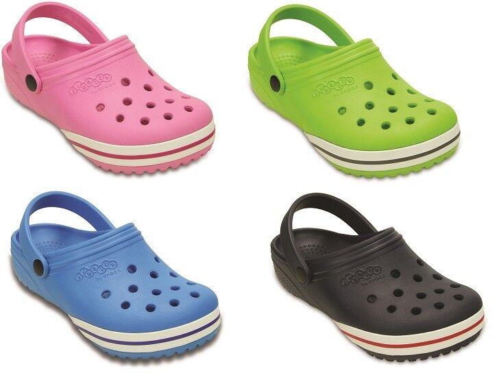 CROCS -Jibbitz by Crocs - Rosa/ Grün/ Navy/ Ocean Clogs 19/20 -34/35 Kinder Kids