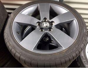Holden Thunder Wheel Rims, Achilles ATR sports tyres Wellington Point Redland Area Preview
