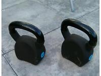 A single 15kg kettle bell