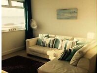 Two bedroom harbour view apartment in sandbanks, Poole with balcony