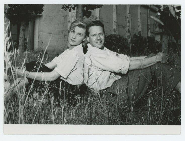 MARIA GRAZIA FRANCIA, DANIEL GELIN original movie photo 1953 VOICE OF SILENCE