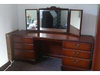 Large, old dressing table