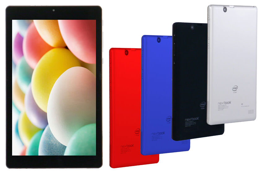Tablet - New Nextbook Ares 8A 16GB 1.92GHz QuadCore Intel Android Tablet Bluetooth 2 Cams