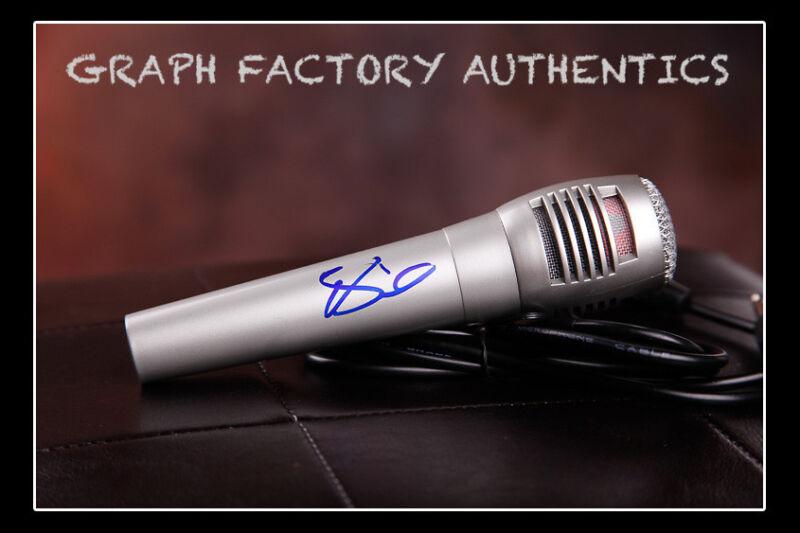 GFA Whatever She's Got  * DAVID NAIL *  Signed Microphone D1 COA