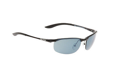 d870cf4f69 Ugly Fish Polarised Sunglasses PT24300 Breeze Shiny Black Frame With Smoke  Lens