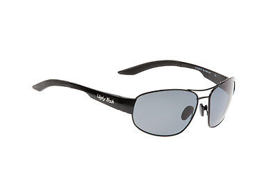 e9471769a4 Ugly Fish Polarised Sunglasses PT24077 Shiny Black Frame With Smoke Lens