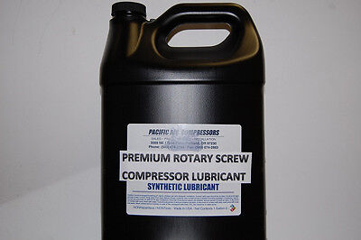 V0414 Curtis 8000 Hour 1 Gallon Synthetic Rotary Air Compressor Oil