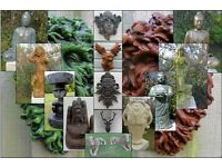 Garden Ornaments Statues, Gargoyles, Dragons, Animals, Buddha's, Angels, Cleopatra And Much More