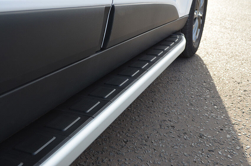Aluminium Side Steps Bars Running Boards To Fit Volkswagen Touareg 2011+