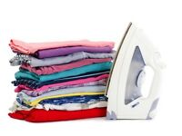 Ironing service available