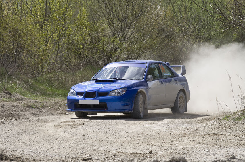 How to Be a Rally Car Driver