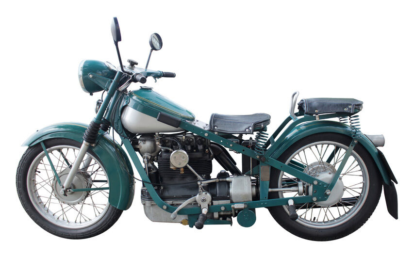 Antique Motorcycle Parts Buying Guide