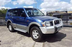 2001 Mitsubishi Pajero GLS turbo diesel 7 seat logbooks RWC $8999 Highgate Hill Brisbane South West Preview