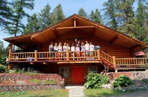 Koocanusa Lake MT Red Door Lodge Rental