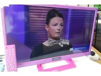 "Virtually new 24"" LED/ DVD TELEVISION"