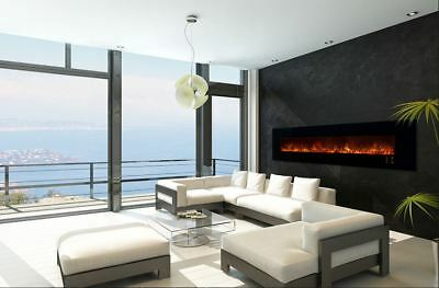"MODERN FLAMES AMBIANCE 100"" CLX 2 ELECTRIC RECESSED/WALL MOUNT FIREPLACE"