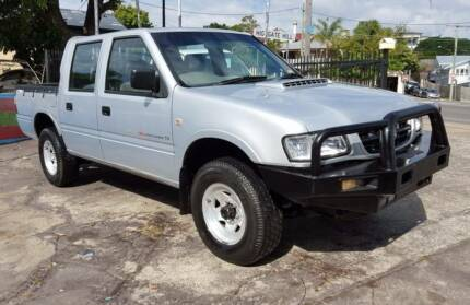 2002 Holden Rodeo TFR9 4X4 AUTO turbo diesel - 1YR WARRANTY $8999 Highgate Hill Brisbane South West Preview