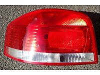Audi A3 8P 2006 near side (left) tail light from 2006 car