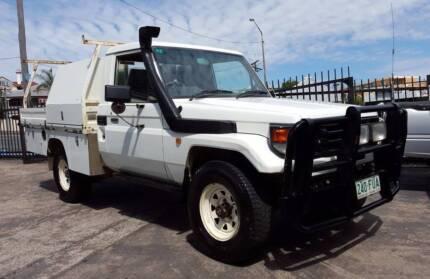 2000 Toyota LandCruiser Ute HZJ79R 1HZ 4.2L diesel 4X4 $15,999 Highgate Hill Brisbane South West Preview