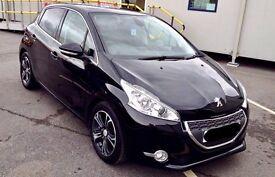2012 Peugeot 208 1.6 e-HDi FAP Allure 5dr (start/stop) Diesel Manual Hatchback - Black 29k Mileage