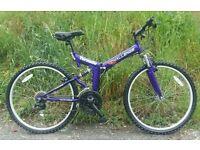 Fold up bike brandnew