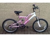 "Bike/Bicycle. GIRLS VERTIGO "" VESUVIUS "" MOUNTAIN BIKE. SUIT 6-9 YEARS"
