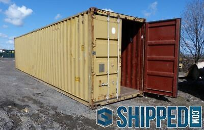 West Fl Sale Used Wwt 40ft High Cube Shipping Container In Naples Florida