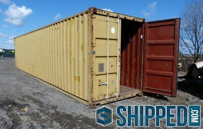 Sale Used 40ft High Cube Shipping Container Home Storage Jacksonville Florida