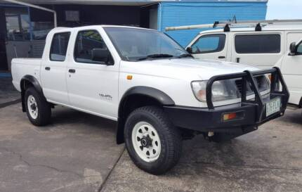 2000 Nissan Navara 3.2L diesel dual cab 222 KM 1yr warranty $7499 South Brisbane Brisbane South West Preview