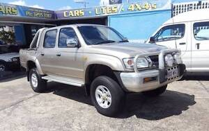 2003 Toyota Hilux SR5 KZN165R 3.0L turbo diesel $17,999 Highgate Hill Brisbane South West Preview