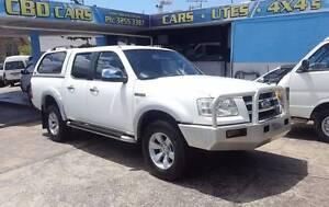 2007 Ford Ranger PJ XLT dual cab 4X4 AUTO 137KM Canopy $19,999 Highgate Hill Brisbane South West Preview