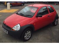 FORD KA 1299cc STUDIO 3 DOOR HATCH 2008-58, LOOK ONLY 52K WITH 1 FORMER KEEPER,